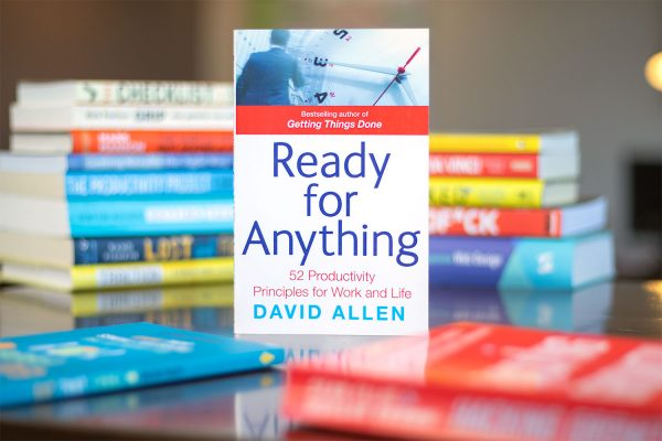 Boekcover Ready for Anything van David Allen